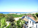 Damla sitesi kargıcak satılık villa,Doğa ve Deniz manzaralı villa.