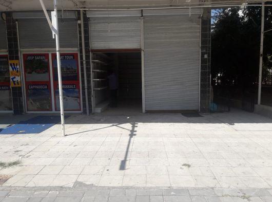 alanya oba gölde satılık 50 m2 dükkan