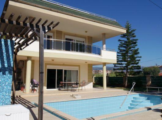 Alanya Konaklıda müstakil ev, müstakil havuzlu villa