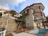 Satılık müstakil villa Alanya Kargıcak-full deniz manzaralı